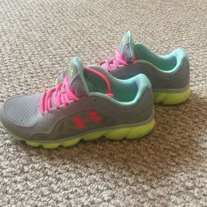 Under Armour. Tennis Shoes. Size 8.5. Worn Once!